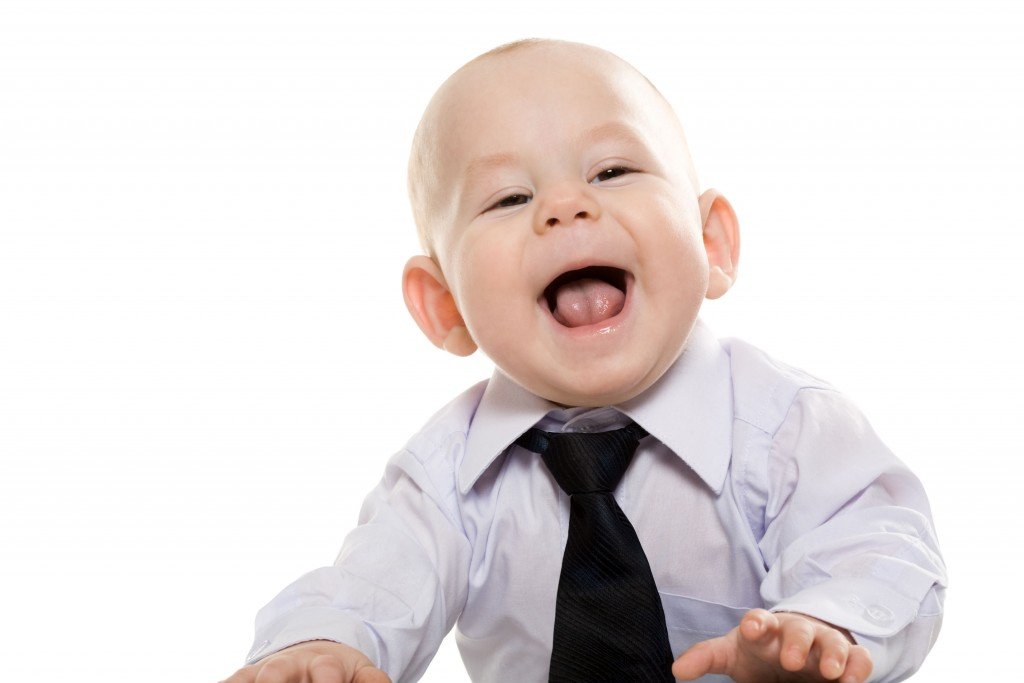 Baby-in-Tie-Laughing